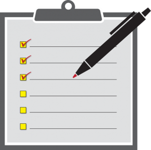 Make a checklist of your items, so you wouldn't be a victim of a usual moving issue and lose your stuff
