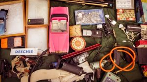 Moving possessions overseas- sell everything you're not bringing with yourself