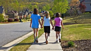 Moving to quiet and safe place is good for your kids