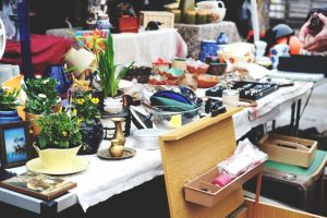 Get creative with your garage sale