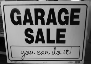 Save your packing time and earn money on your garage sale