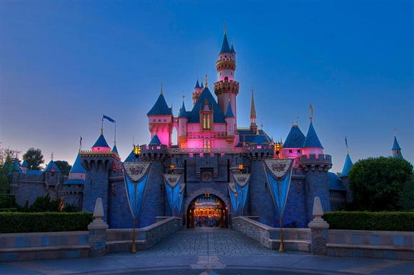 Ahaheim-Disneyland - Sleeping Beauty Castle