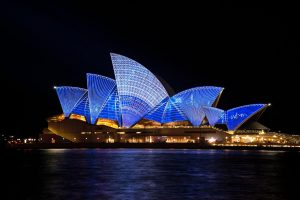 The Sydney Opera House is one of the reasons why moving to Australia is so alluring.
