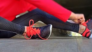 Fitness, exercise - can help you stay in shape when moving abroad and staying healthy.