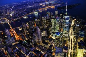Best NYC areas for families - NYC at night