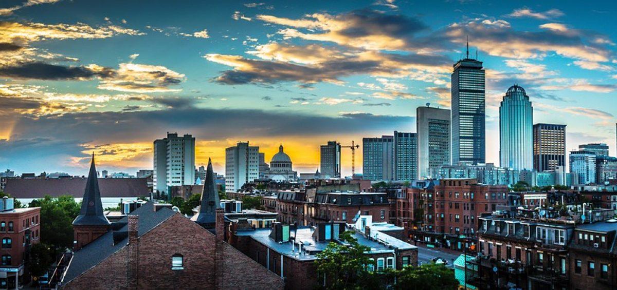 Moving out of Massachusetts, Boston.