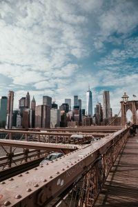 Brooklyn bridge, a way to some of the top Brooklyn neighborhoods for millennials