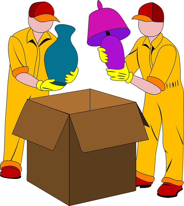 Hire professional packers  who will prepare your belongings