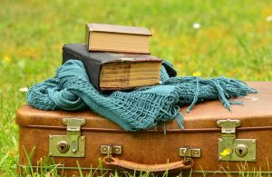 books and luggage