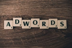 Scrabble forming ADWORDS