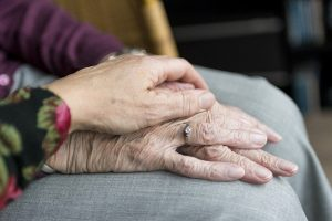 Hands, care - Take care of everything to help your aging parent move and adjust to their new home.