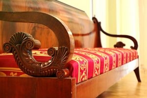 An antique sofa.