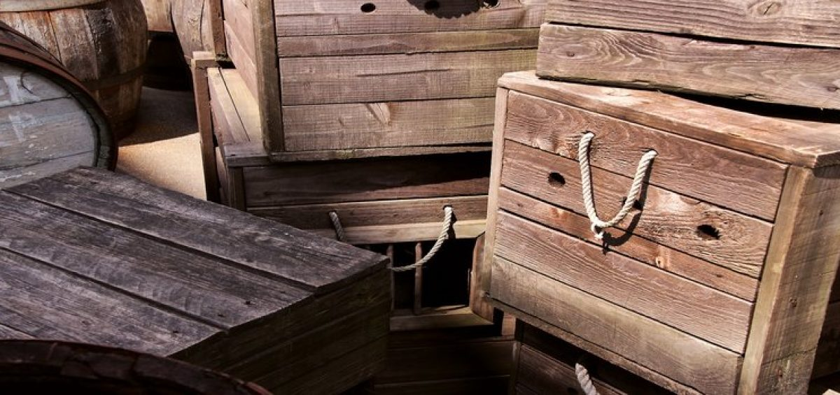 Crates you can store in your Manhattan loft