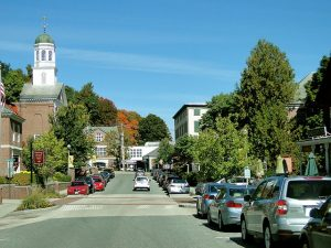A street in North Hampton.