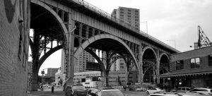 A bridge in Harlem.