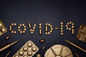 Covid-19, coronavirus pills.