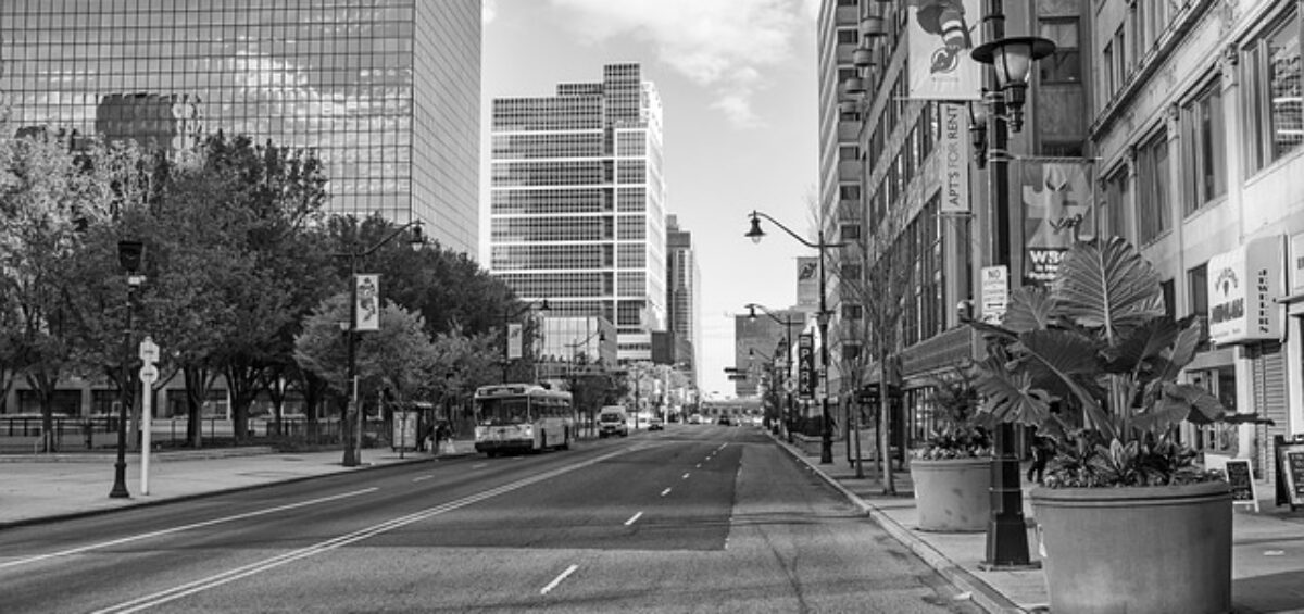 Newark City Street - 5 reasons why Newark is a great city for young adults