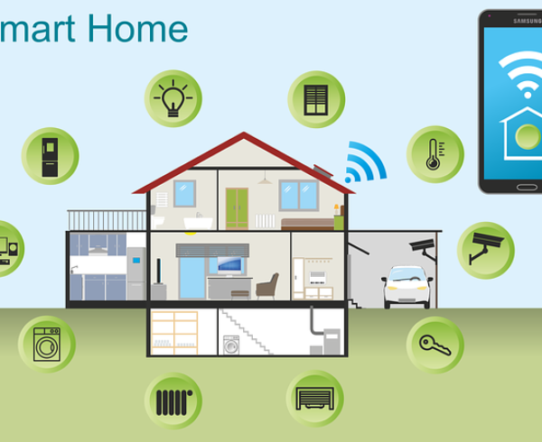 A photo of a smart home.