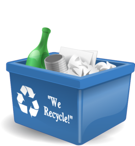 Plastic bin used as eco-friendly packing materials