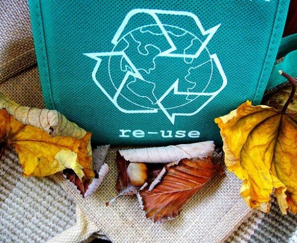 Recycled moving box as one of eco-friendly packing materials..