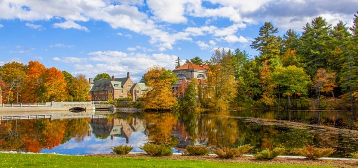 New Hampshire nature scenery