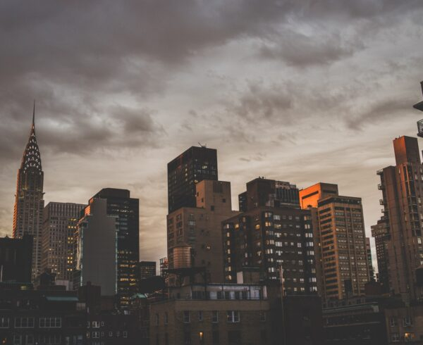 Upper West Side in the evening
