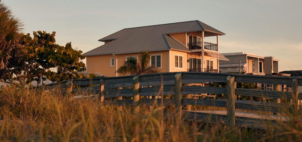 A house near Indian Rocks Beach, Florida.